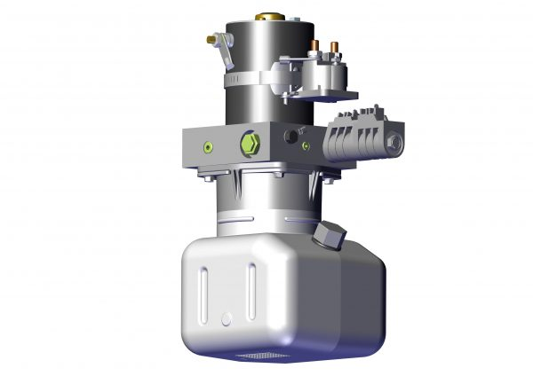 Roll Rite Hydraulic Power Unit 24V, Single Valve with PO Check 39612