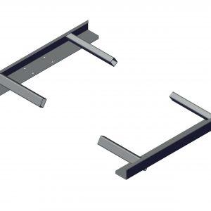 Roll Rite Mounting Brackets for Side Dump Knuckle Pivot Set 48190