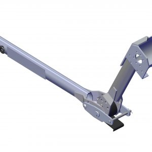 Roll Rite Pivot - Assembled Knuckle Arm for 37200, Motor End 46802