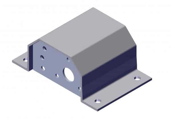 Roll Rite Pivot Box Bracket for 8-Spring Top Mount Pivots (Each) 47490