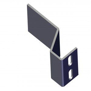 Roll Rite Plate, Steel Side for Single Leg Landing Gear 21200