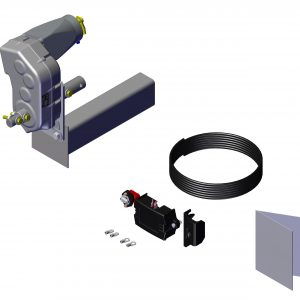 Roll Rite Power Kit - Landing Gear - Thru-Shaft for 2 sp Holland Horse Trlr- no wire with HD Relay 21240
