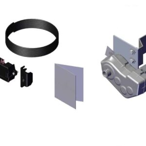 Roll Rite Power Kit - Landing Gear - Thru-Shaft for Single Leg without Wire with HD Relay 21300