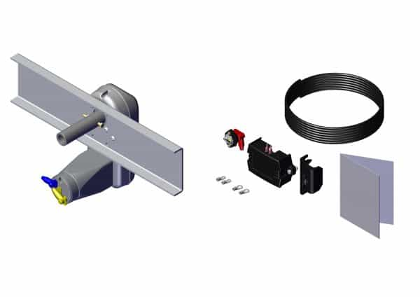 Roll Rite Power Kit - Super Duty without Brake for Landing Gear OB without Wire 21410