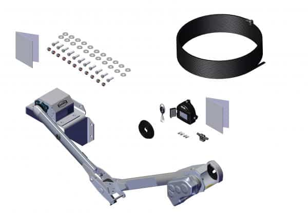 Roll Rite Rite-Lock Power Arm Kit - Pass Stowing with One Top Mount Pivot with 20in Base & 27in Upper 37103
