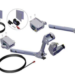 Roll Rite Rite-Lock Power Arm Kit - Passenger Stowing for Side Dump Trailer - 12V TS 37200_1