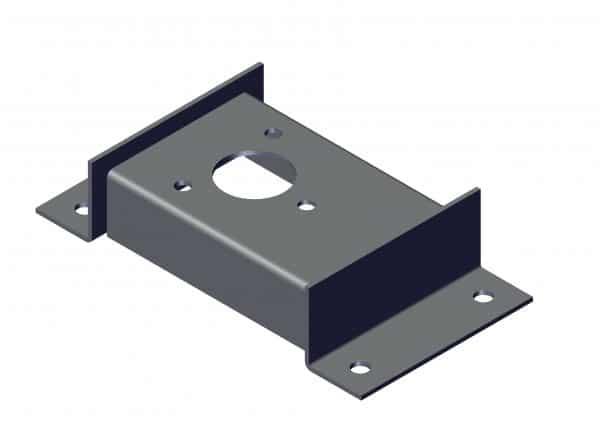 Roll Rite Steel Bracket TT-Driver Side 46050