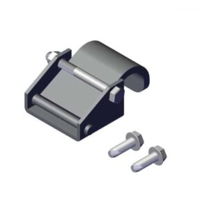 Roll Rite Steel Clamp for Tarp Securing Rod ZINC (each) RR36830