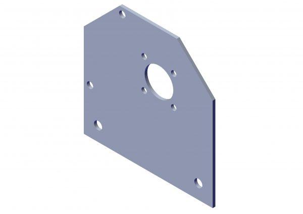 Roll Rite Tarp Brackets for Semi-Automatic 6200 Series (Pair) 62100