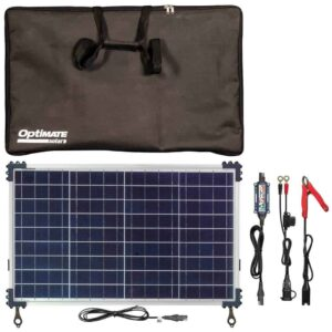 Tecmate OptiMATE SOLAR DUO 40W Travel Kit TM522-4DTK