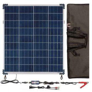 TecMate OptiMATE SOLAR 80W Travel Kit