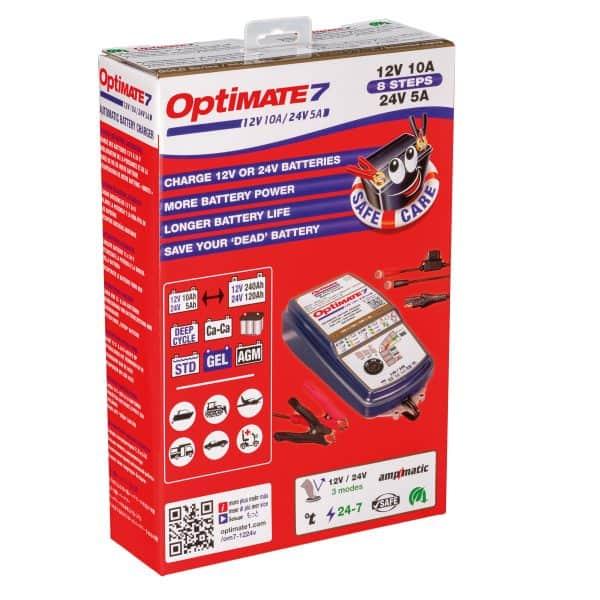 TecMate OptiMate 7 Battery Charger 12V24V TM-261v3