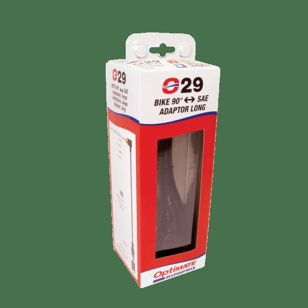 Tecmate OptiMATE Adapter-Extender BIKE 90° plug to SAE O-29