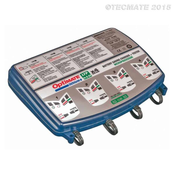 Tecmate OptiMATE Lithium 4s Battery Charger and Maintainer TM-485
