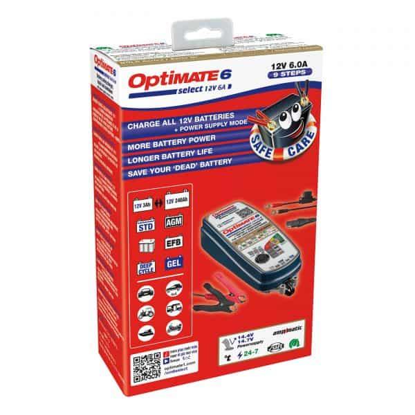 Tecmate Optimate 6 Select Battery Charger TM-371