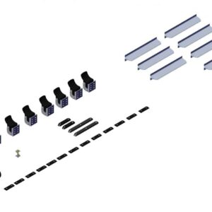 Hardware. Box 2- Axle Kit Hardware for 36ft - 3in Axle Kit 102547