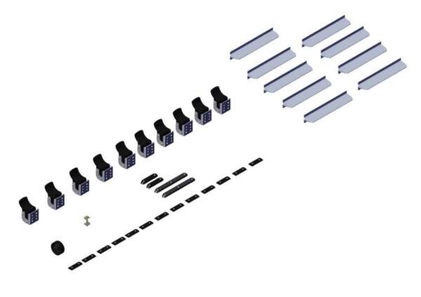 Hardware. Box 2- Axle Kit Hardware for 48ft - 3in Axle Kit 102549