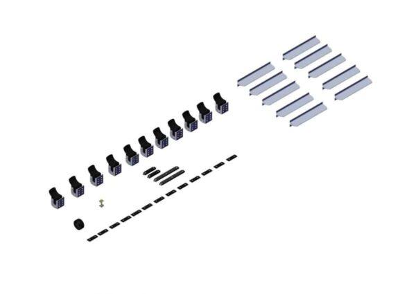 Hardware. Box 2- Axle Kit Hardware for 53ft - 3in Axle Kit 102550