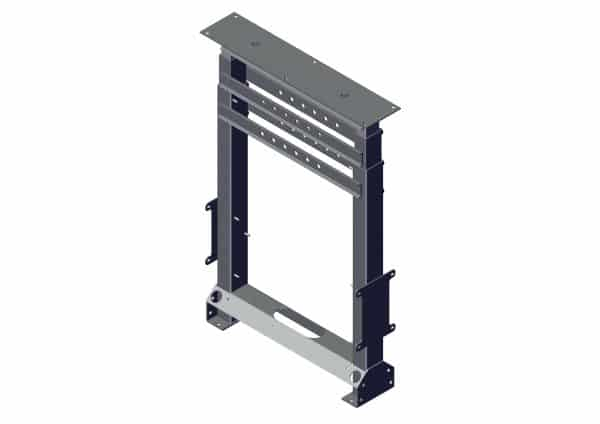 Roll Rite 2 Stage Tower for Integrated Housing - Stationary Dual stage 101472
