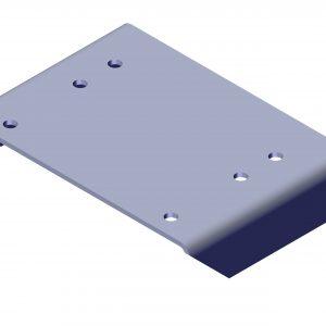 Roll Rite Alum Pivot Mounting Extension Plate Bracket 104278