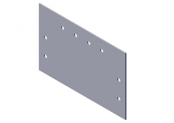 Roll Rite Aluminum Plate Bracket for Top Mount Pivot Box Mount 103813