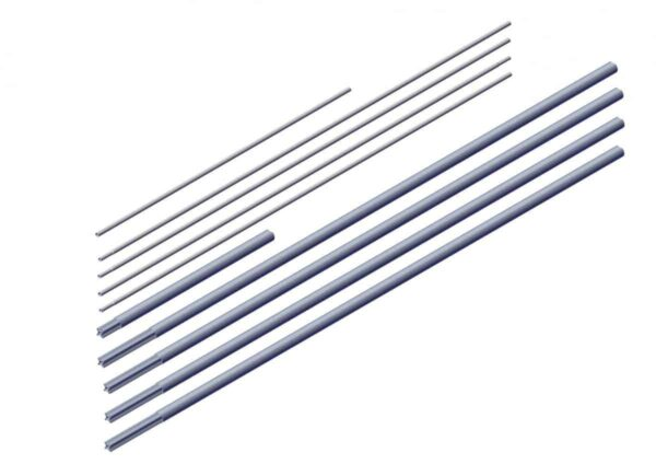 Roll Rite Axle Kit Box 1 for 3in - 53ft Axle Kit without Ridge Pole 102569