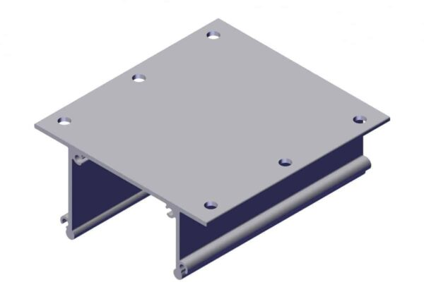Roll Rite Ext Body Bracket with Holes for 16 Spring UB Box102581