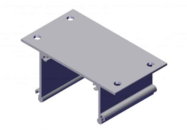 Roll Rite Ext Body Bracket with Holes for 8 spring UB Box 102269