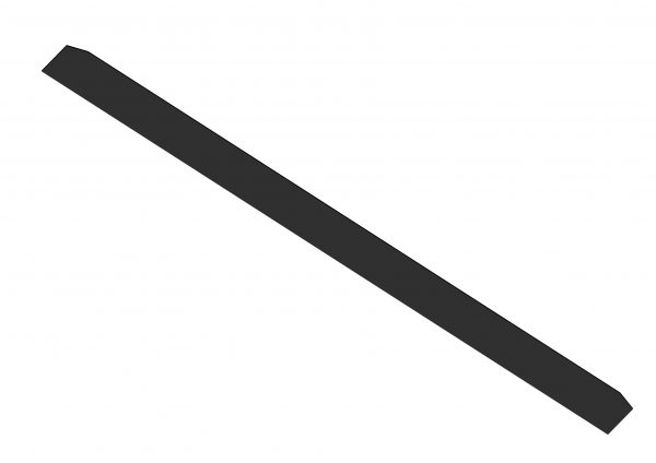 Roll Rite Flat Poly Wind Deflector for Transfer Trailers 103826