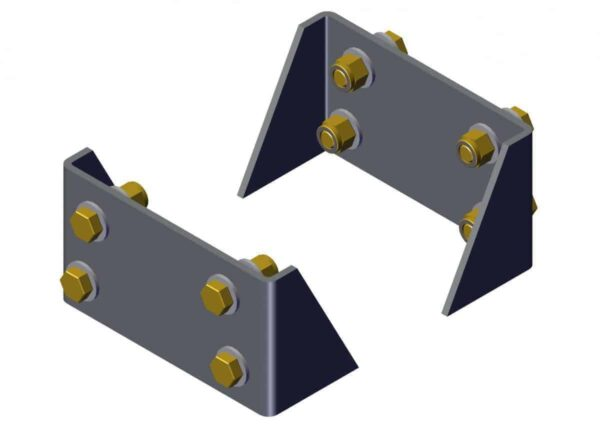 Roll Rite Mounting Brackets and Hardware for 103865 -RR103867