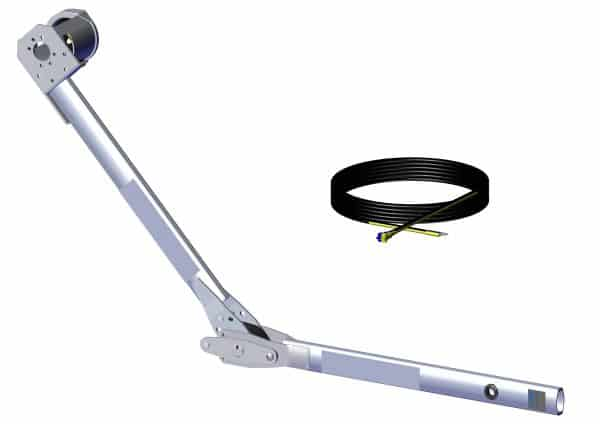 Roll Rite Pivot- Assm. Front Arm for Power Kit with Nose Cone driver Stowing 104824