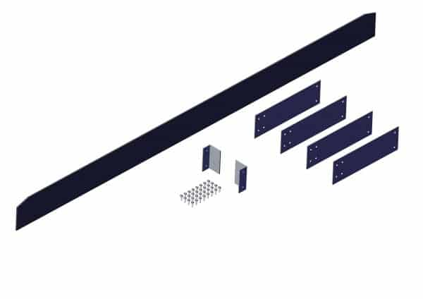 Roll Rite Plastic Wind Deflector Kit for Transfer Trailers 103957