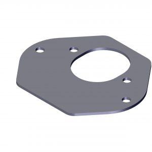 Roll Rite Plug Mount Adapter Plate Bracket 103845