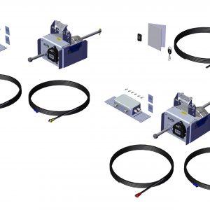 Roll Rite Rite Trap - Rapid Install Dual Door Power Kit 100446
