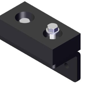 Roll Rite Rubber Mounting Assembly, Powder Coated 79473