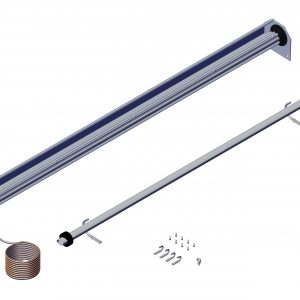 Roll Rite Semi-Automatic System For Light Trucks with Tarp Wound Over the Axle (specify width) 62655