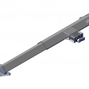 Roll Rite Side Assembled Sliding Pivot without Tubes Driver 4771d