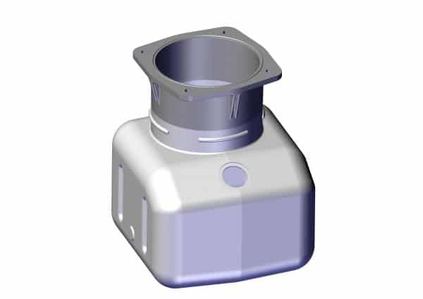 Roll Rite Tank for Integrated Single Valve Power Unit (39612 & 39712) 102066