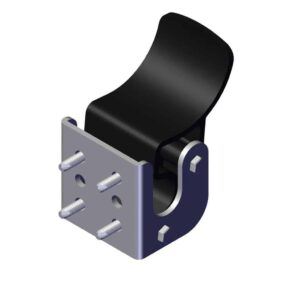 Roll Rite Tarp Stop with Bracket for Side-to-Side System With Fasteners 104444