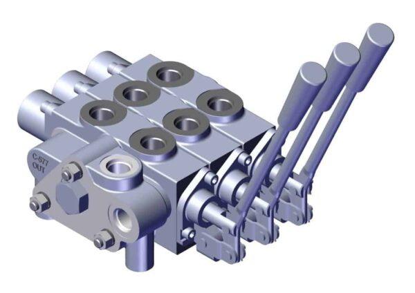 Roll Rite Triple Spool Hydraulic Control 79130_1