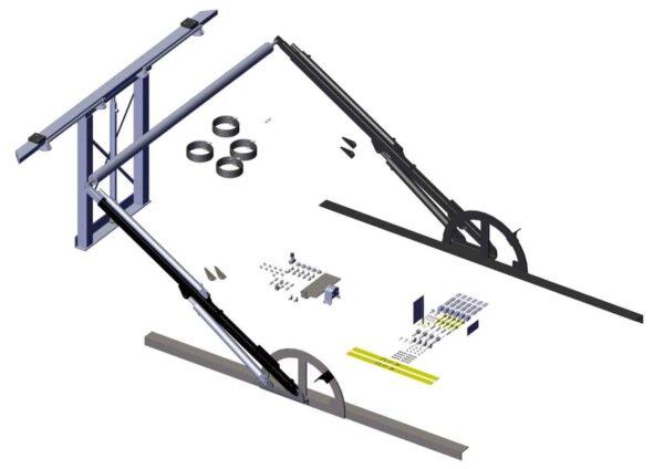 ALC310. Single Axle Hydraulic Gantry & Hydraulic Slide Arms 79310