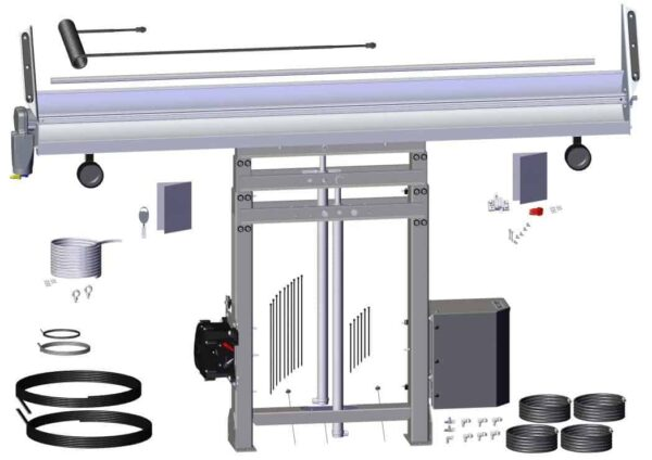 Roll Rite® DC100 ArmLess Electric Tarp System 69100